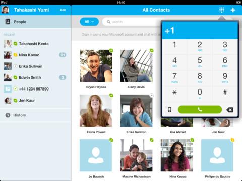 скачать skype бесплатно на ipad