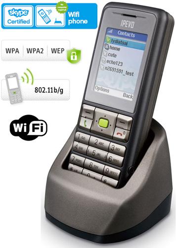 Wi-Fi Skype телефоны