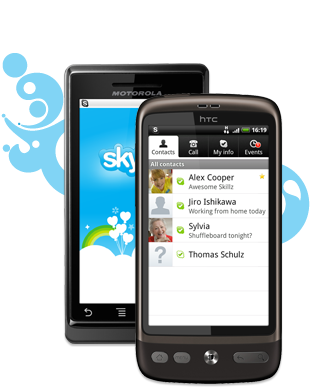 Ska4at skype na android